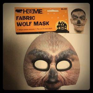 Fabric Wolf Mask